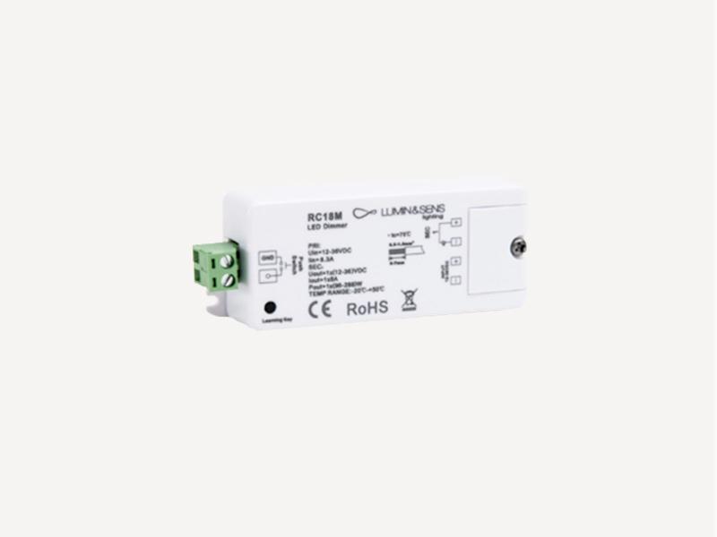 Récepteurs LED HF 1x8A 12-24V
