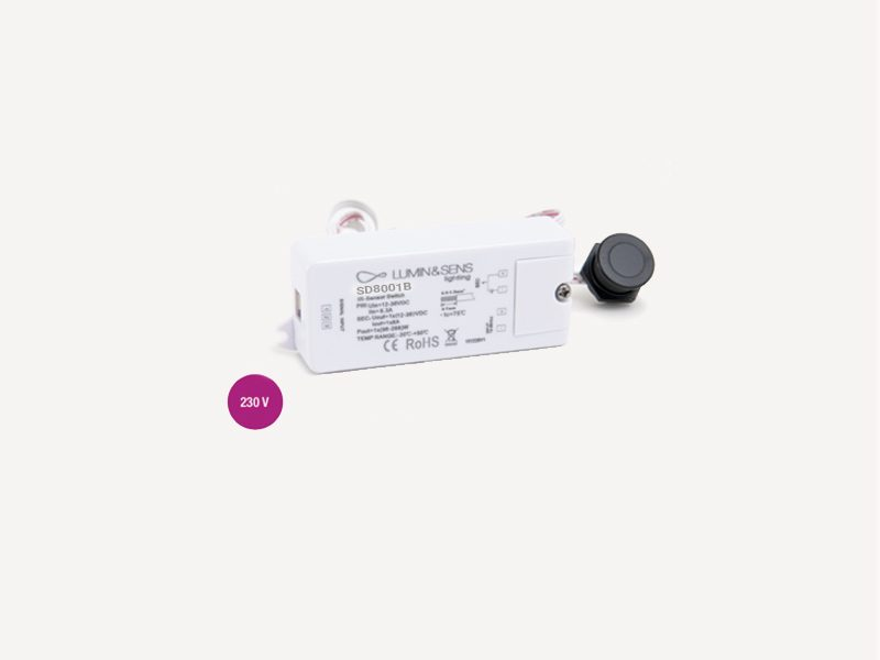 Mini Interrupteur détecteurs de porte 230V