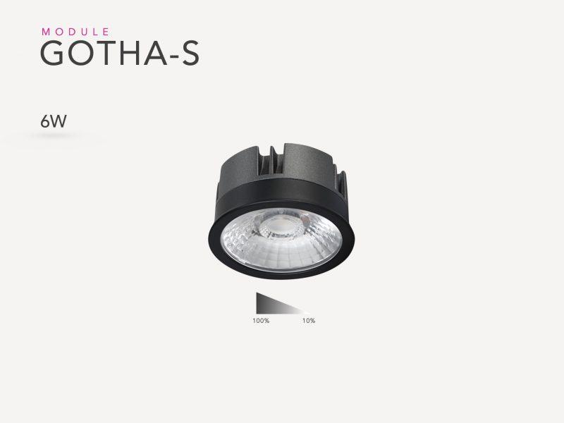 Photo du Gotha 6w led