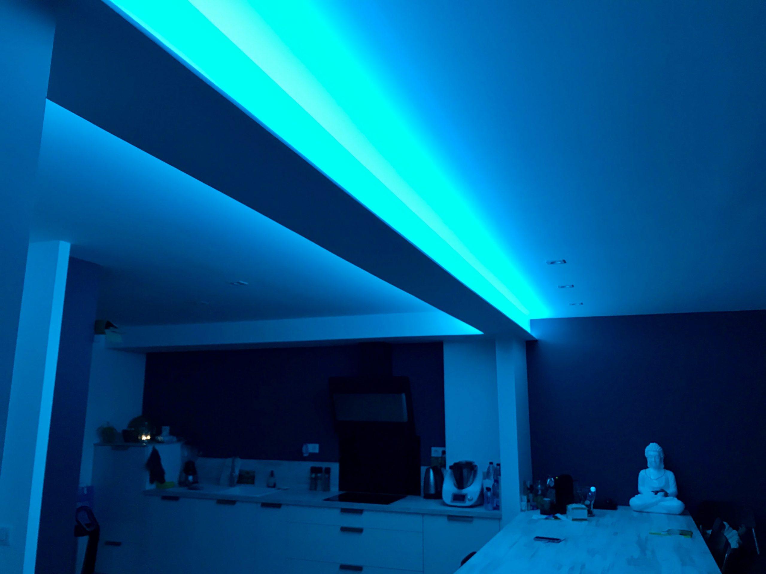 Éclairage cuisine Ruban LED