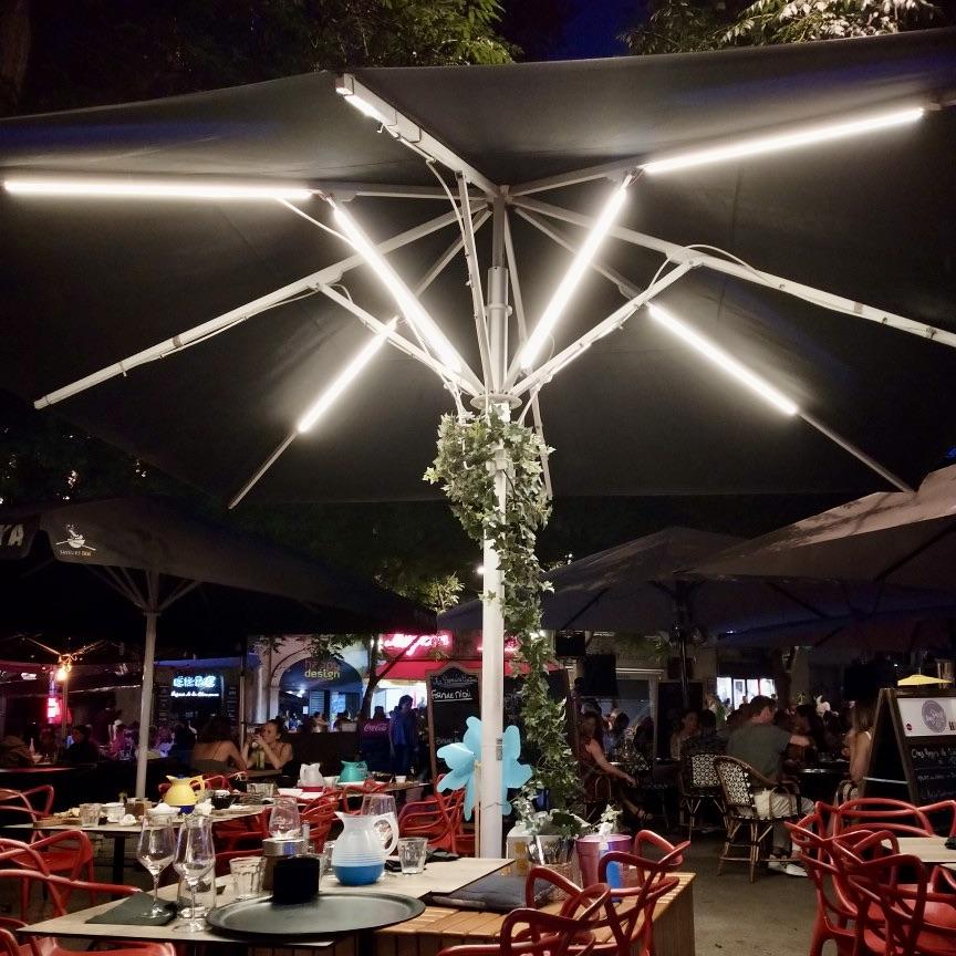Ruban LED pour parasols